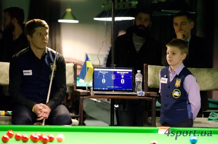 Чемпионат Украины по снукеру 2014. День первый (+ ФОТО)