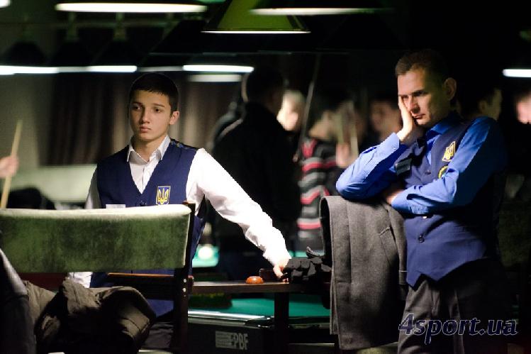 Чемпионат Украины по снукеру. День второй (+ФОТО)