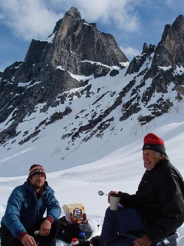 Фред Бэки  (Fred Beckey) на Аляске в 2005 году