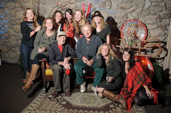 Рождественская вечеринка в Патагонии, 2010 год