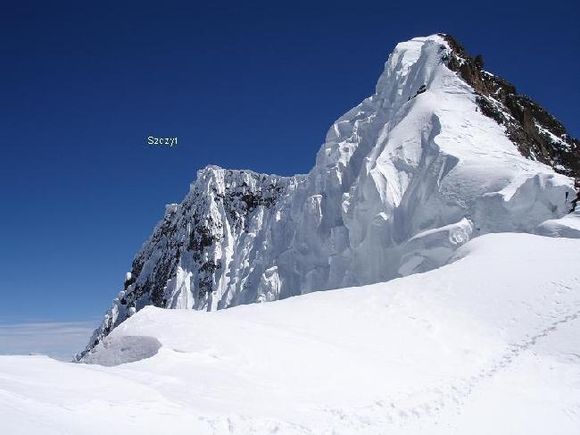 Фото 2005 года. Вид с перевала 7900 метров на Броуд Пик