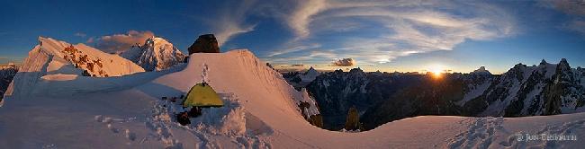 Джон Гриффит: Идеальный бивуак на вершине Сулу (Sulu Peak, 6000м в долине Charakusa, Пакистан)