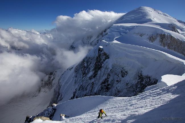 Маршрут «Cretier» на вершину Mont Maudit