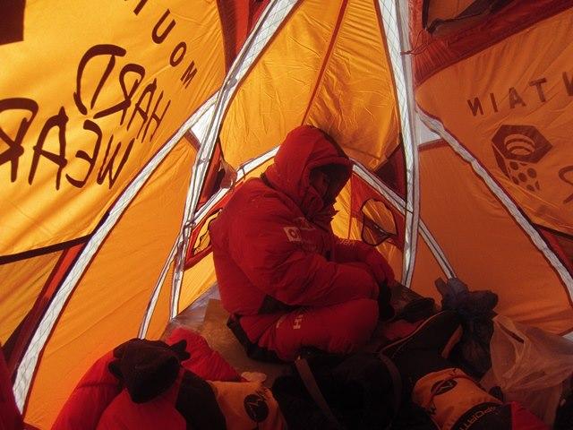 В высотном лагере Camp3. Фото A.Małek