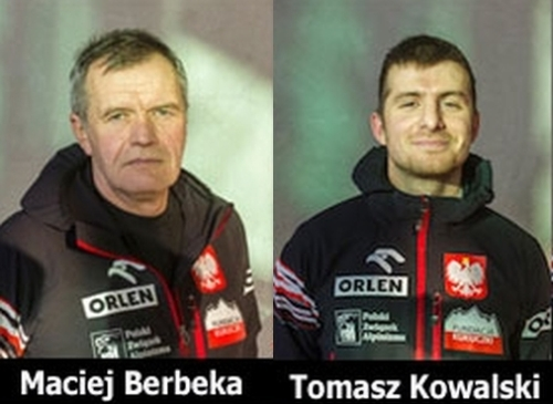 Мачей Бербека (Maciej Berbeka) и  Томаш Ковальский (Tomasz Kowalski)