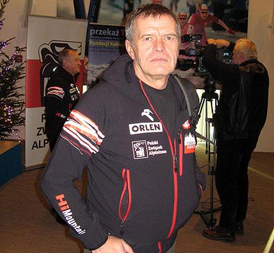Мачей Бербека (Maciej Berbeka) на пресконференции перед экспедицией на Броуд Пик 2013 г