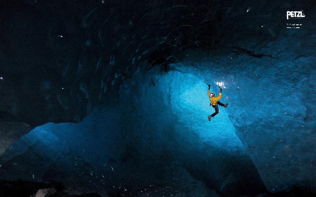 внутри ледника Mer de Glace. Монблан