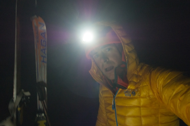 Ночью на маршруте