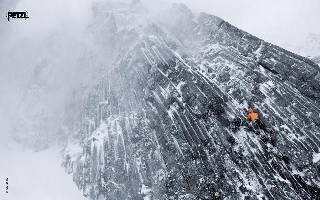 Лёд и микст на стенах Ben Nevis, Шотландия
