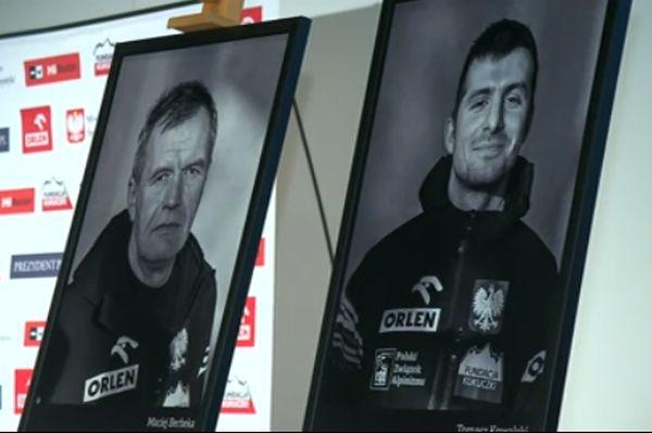 Погибшие альпинисты Мачей Бербека (Maciej Berbeka) и Томаш Ковальский (Tomasz Kowalski)