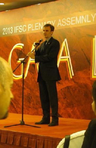 Marco Scolaris - Президент IFSC