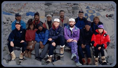 """Команда """"Adventure Consultants Everest"""". 1996 год"""