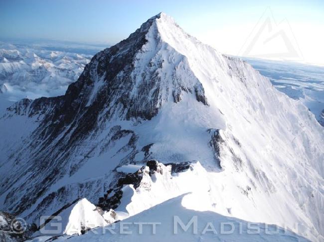Вид на Эверест с вершины Лхоцзе (Lhotze, 8501 м)