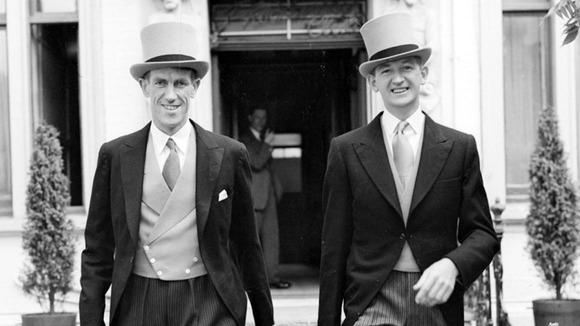 Джордж Лоу (George Lowe) - справа и Эдмунд Хиллари  - слева в 1953 году