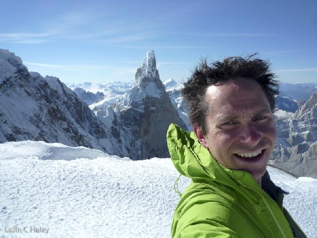 Собственный портрет на вершине Cerro Adela Sur