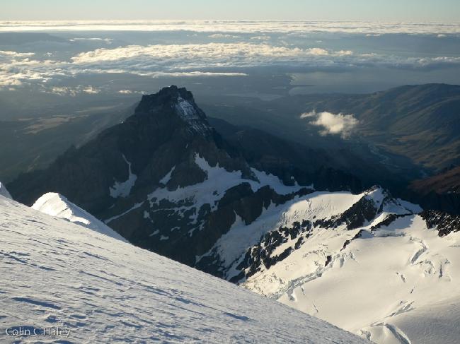Северный компонент Cerro Solo вид с вершины Cerro El Ñato