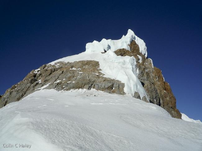 Вид на Северный хребет Cerro El Doblado с Paso Doblado