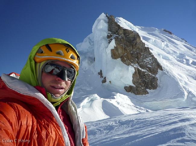 Вид на Юго-Восточный хребет Cerro El Ñato по которому я только что спустился