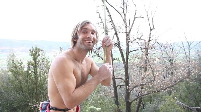 Крис Шарма (Chris Sharma) в Испанском регионе Oliana 23 марта 2013 года