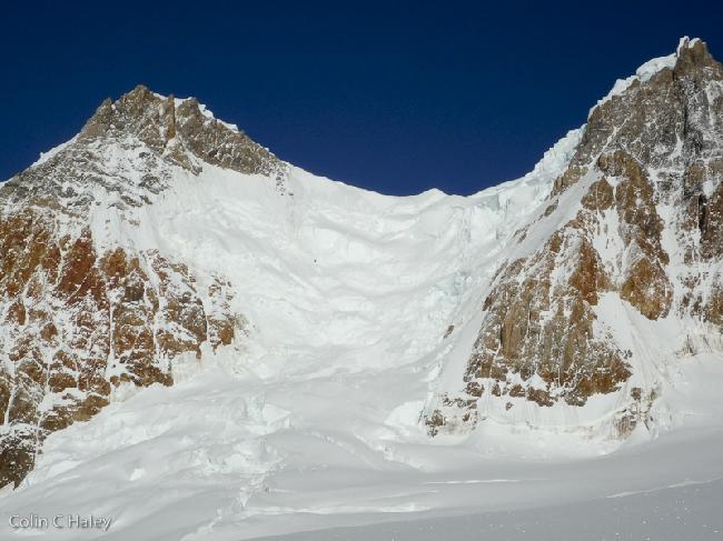 Склоны, ведущие к перевалу Col Trento оказалась намного хуже, чем они выглядели от сюда