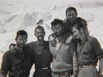 Слева - направо: Келлер - Флоранс - Маньон - Контамин - Параго