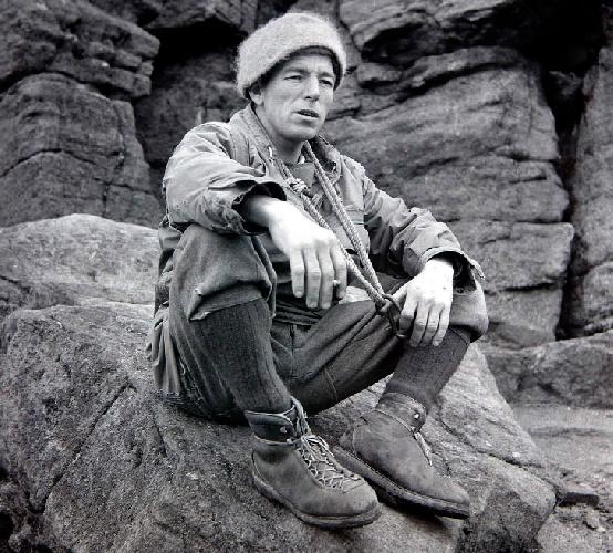 Джо Браун в каракорумской экспедиции в 1956 году