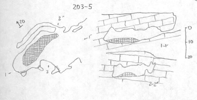 Карта Татьяниной пещеры