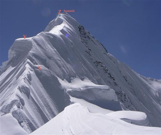 вершина Гандарбха Чули (Ghandarbha Chuli). вид с Западного хребта