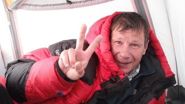 Алексей Болотов на Эвересте в мае 2013 года: акклиматизационная программа