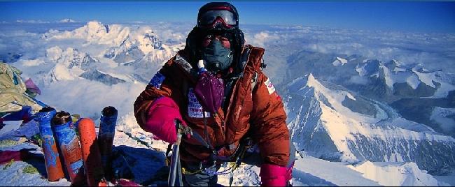 Юичиро Миура (Yuichiro Miura) на Эвересте в возрасте 75-и лет