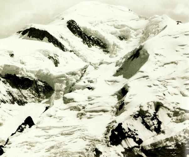 Монблан (Mont Blanc), вид с вершины Brévent