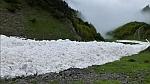 В горах над Австрийским городом Инсбрук сошла лавина (ВИДЕО)