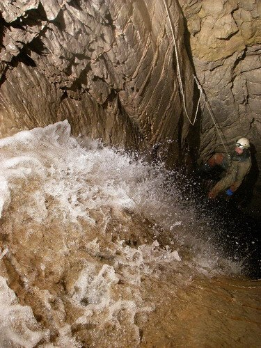 """пещера Крубера-Воронья, ветка """"Некуйбышевская"""""""