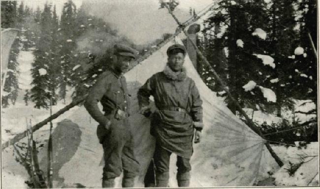 Hudson Stuck и Harry Karstens соруководители экспедиции 1913 года на Мак-Кинли
