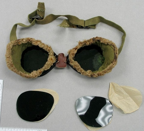 горные очки  экспедиции Хадсона на Мак-Кинли. 1913 год