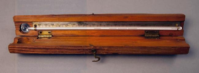 ртутный термометр экспедиции Хадсона на Мак-Кинли 1913 года
