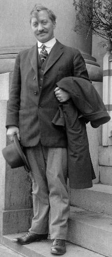 Фредерик Кук (Frederick Albert Cook) в 1917 году