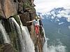 Совершен первый переход по хайлайну через самый высокий в мире водопад. +ВИДЕО