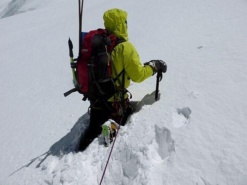 Марек Холечек (Marek Holecek) и Зденек Храб (Zdenek Hruby). Первое восхождение по Северо-Западному гребню вершины Talung (7349 м)