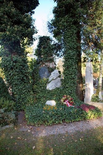 могила Людвига Пурчеллера в городском кладбище Зальцбурга