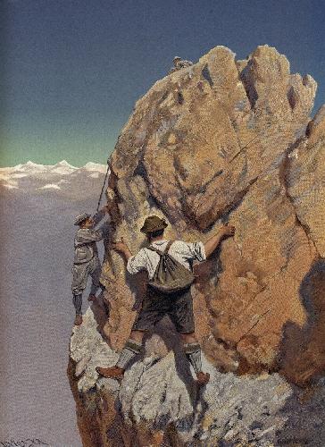 восхождения Людвига Пурчеллера.
