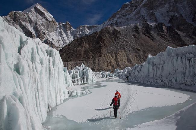 Восхождение в Camp1 на Эвересте. Наш предпоследний день