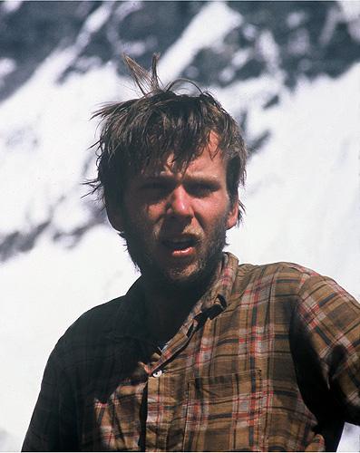 Молодой альпинист Артур Хайзер (Artur Hajzer). Фото Krzysztof Wielicki
