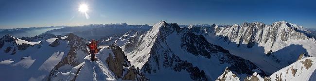 На вершине горы. Прекрасный вид