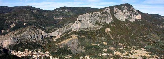 Скалы Orpierre