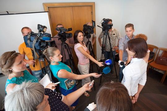 пресс-конференция посвященная старту I этапа альпинистского проекта «ЭВЕРЕСТ-2015. Донбасс-Снежный Барс»