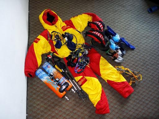 Снаряжение спаскоманды на Броуд Пик