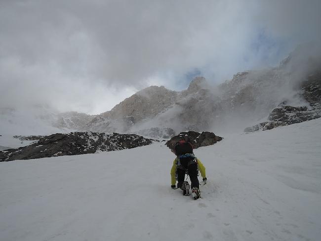 одна из попыток восхождения на  Kunyang Chhish East (Куньянг Чиш Восточный)