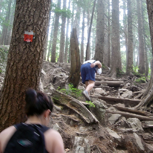 """The Grouse Grind"", Ванкувер, Британская Колумбия"