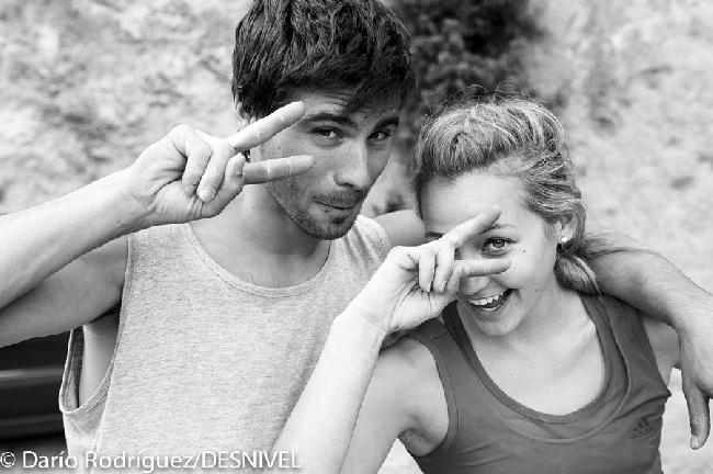 Эду Марин (Edu Marin) и Саша Дижулиан (Sasha Digiulian) в Margalef